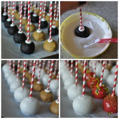 Snickerdoodle OREO Cookie Ball Pops